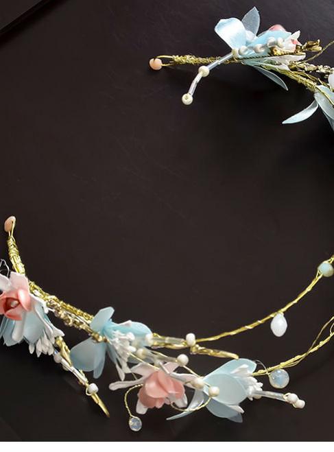 head wear sweet hairband wedding bride wedding hair jewelry handmade