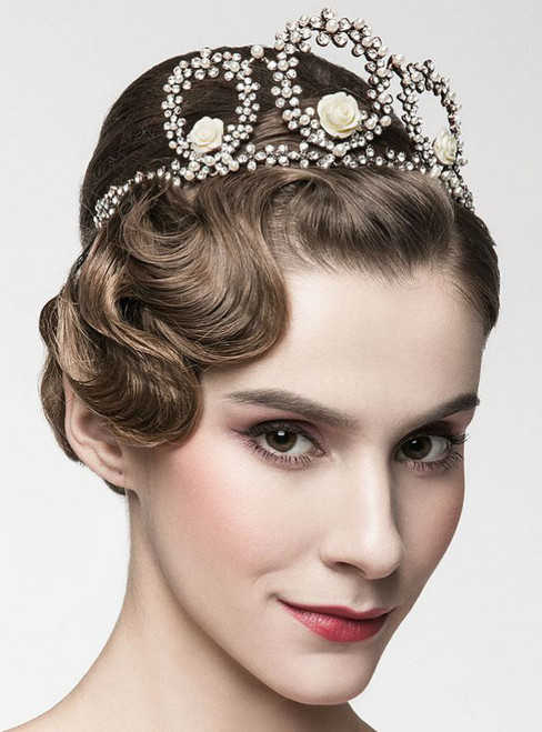 wedding accessories Tiara hoop bride Korean Princess  hair Japan simple