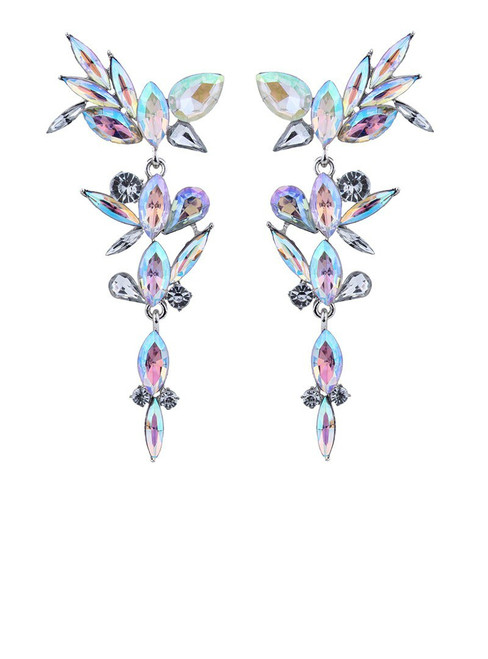 lady Luxury Big Earring Good Quality Cheap Multicolored