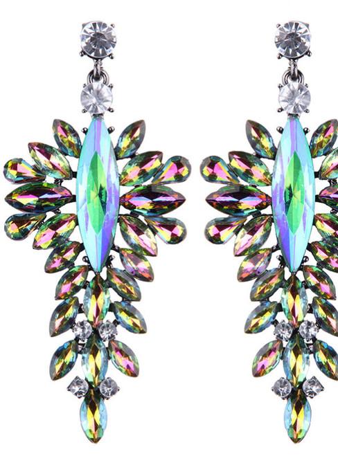 Big Brand Cheap Crystal Wedding Drop Earrings Special Design