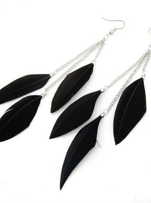 Feather Earrings for Women  Bijoux