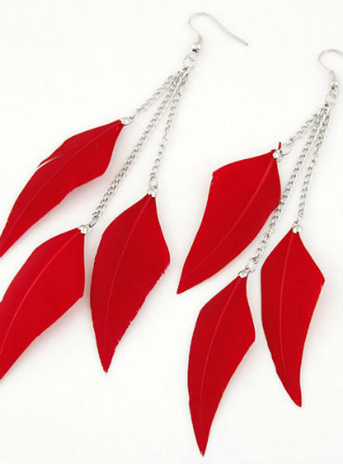 Fashion Feather Earrings for Women