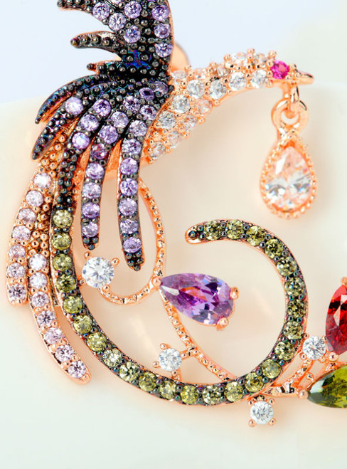 Jewelry Unique Design Luxury Rose Gold Color