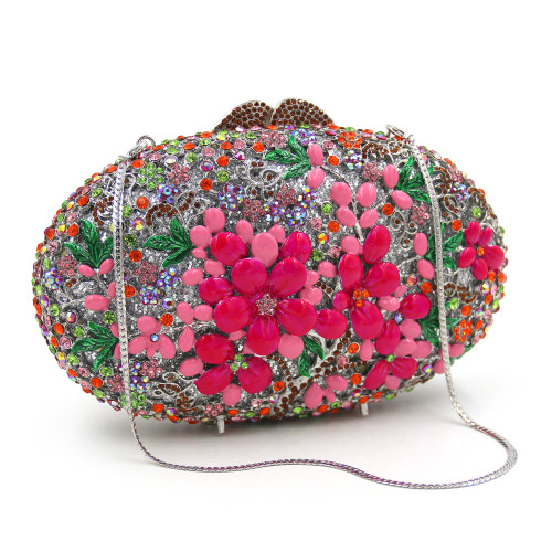 Women Wedding Bags Colorful Diamond Evening Clutch Bag Luxury Party Purses