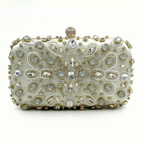 Fashion Women Luxury Clutch Purses Ladies Evening Bag Party Diamonds Party Purses