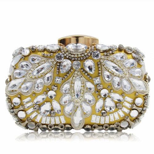 Women Evening Bag Ladies Beaded Clutches Diamond Day Clutches