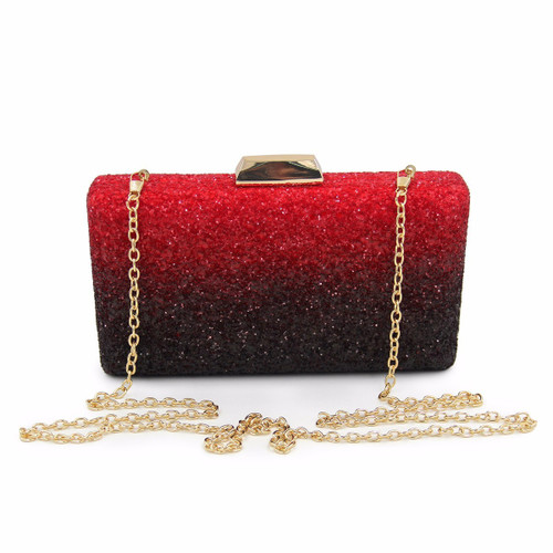 Women Evening Bag Fashion Fade Color Clutches Dancing Party Bag Dinner Purse High Quality