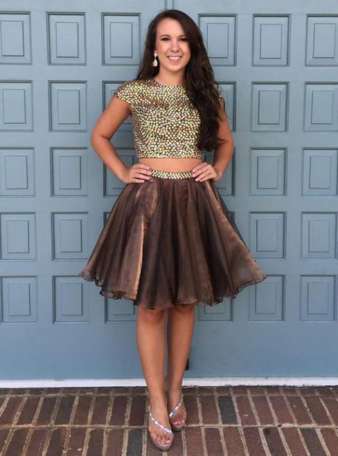 2017 A-line Homecoming Dress Short/Mini Prom Dress Juniors Homecoming Dresses