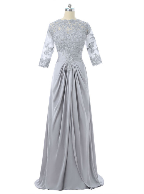 2017 Mother Of The Bride Dresses A-line Satin Lace With Jacket