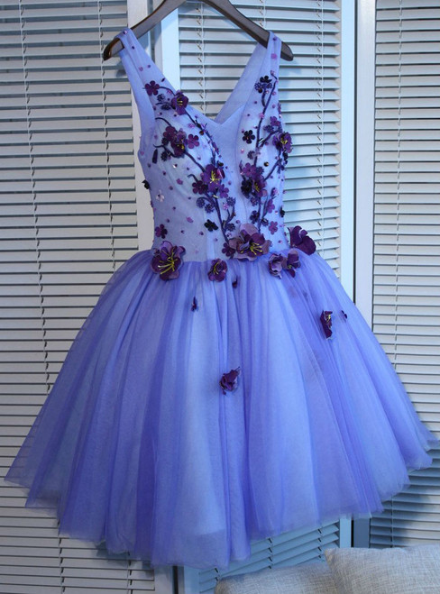053c34f00b8 V-neck Short Mini Prom Dress Juniors Homecoming Dresses A-line Homecoming  Dress