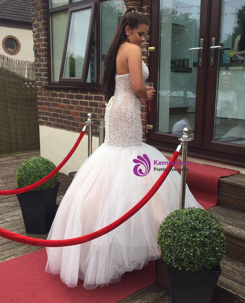 Fashion Long Prom Dresses Evening Gown For Wedding Party