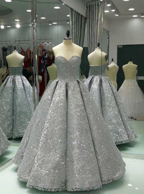 Ball Gown Quinceanera Dresses for Girls Sweetheart Gorgeous Prom Evening Dresses for Women