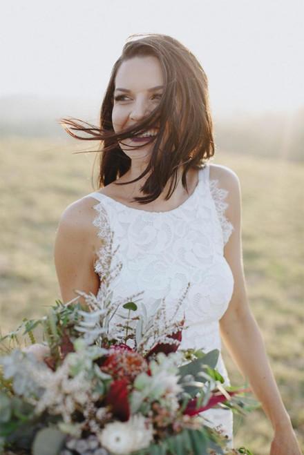 Sexy Wedding Dress Custom Made Wedding Dress Backless Wedding Dress