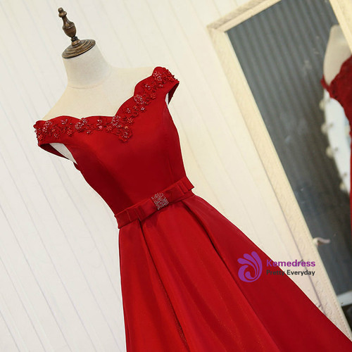 red dress party dress party dress is a luxury satin gown with a long pearl opal dress