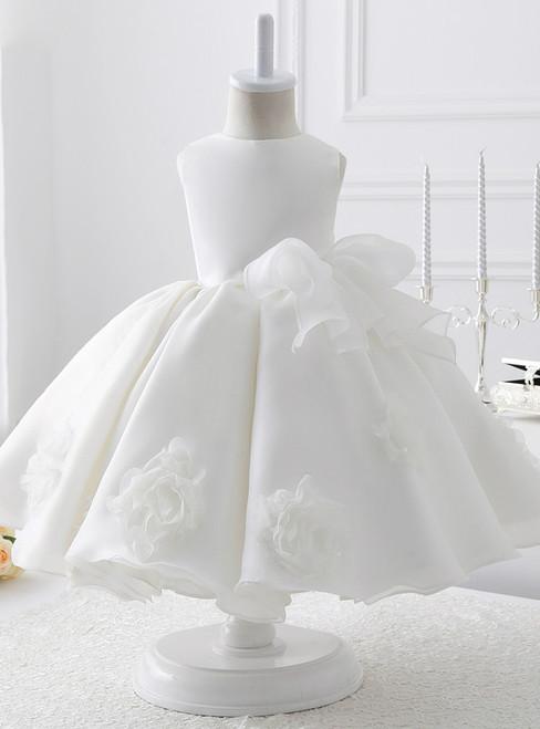Ball Gown Organza flower girl dress for Weddings 2017