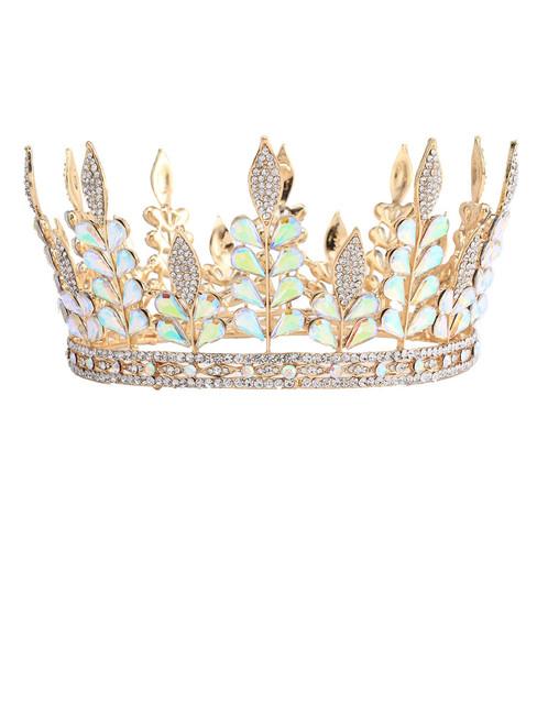Rhinestone Crown Romantic Wedding Crowns Bridal Party Prom
