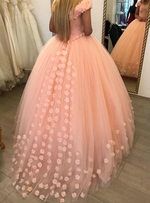 Bling Bling Princess Prom Dresses Ball Gowns
