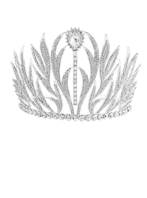 Elegant Tiara Crystal Hair Crown - Rhinestones Headband for Queen Bridal Princess
