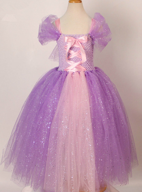 Children Masquerade Ball Gowns For Kids Halloween Birthday Party