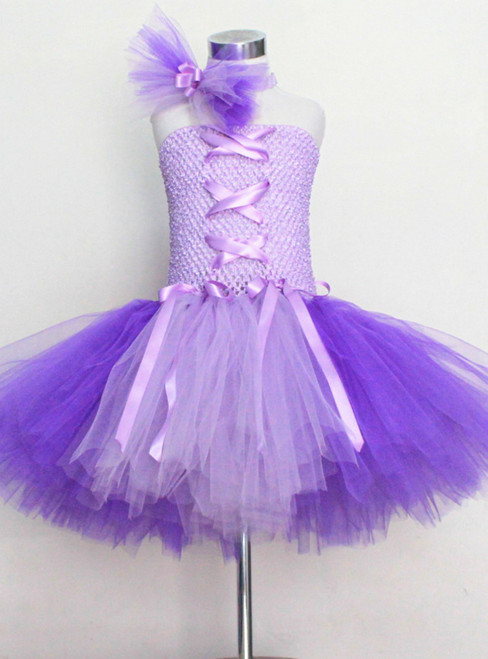 Knee Length Children Birthday Party Dance Dress Cosplay Halloween
