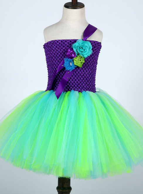 Girl Pageant Ball Gowns For Children Birthday Fancy Kids Clothes
