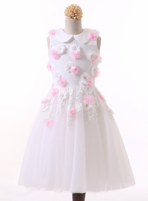 2017 Sweet Flower Girl Dresses for Wedding Pageant Dress Prom Party Dress