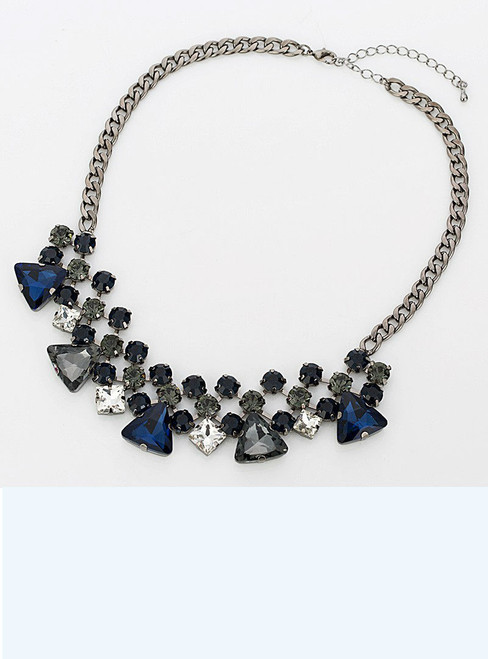 Fashion Crystal Necklace & Pendants Brand Jewelry statement jewelry