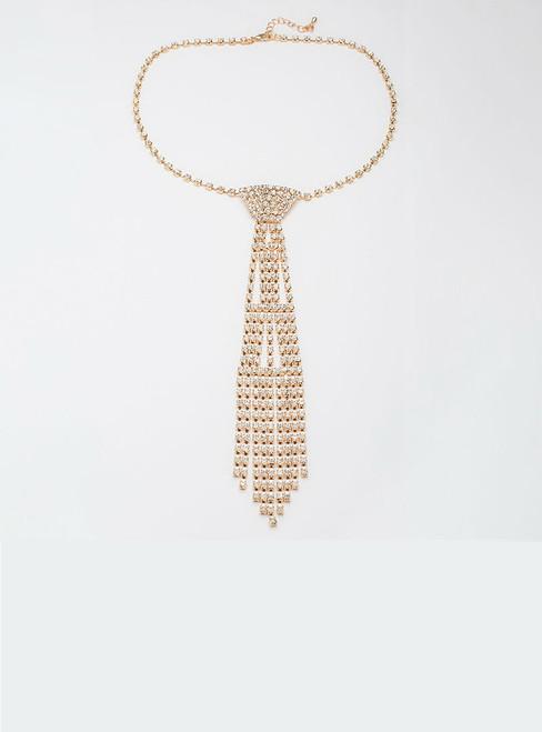 Wedding Jewelry Necklace Bride Rhinestone Tie Accessories Wedding Jewellery