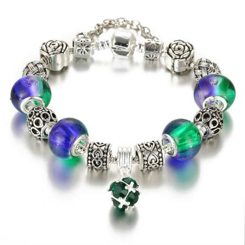 Glass Bracelets For Women Crystal Beads Bracelets & Bangles