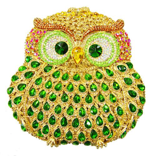 Owl women bags pochette handmade prom Clutch evening bags