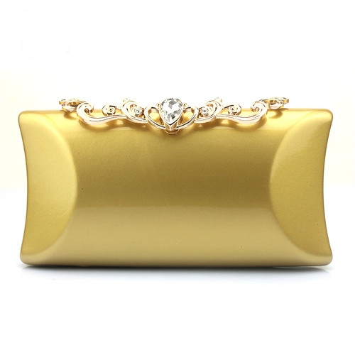 Classic hand holding Dinner Bag with fashion metal diamond