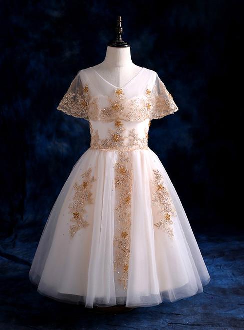 Princess Tutu before short day golden children dress fashion long princess skirt a girl