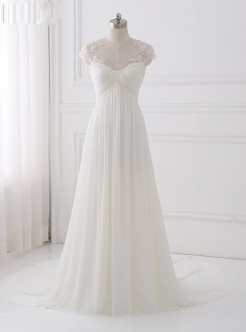 Simple Bohemian Wedding Dresses 2018 Wedding Dress Chiffon