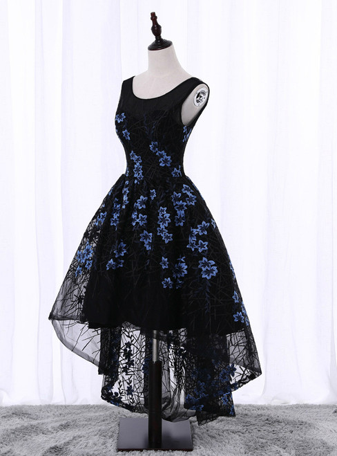 In Stock:Ship in 48 hours A-Line Hi Lo Homecoming Dress