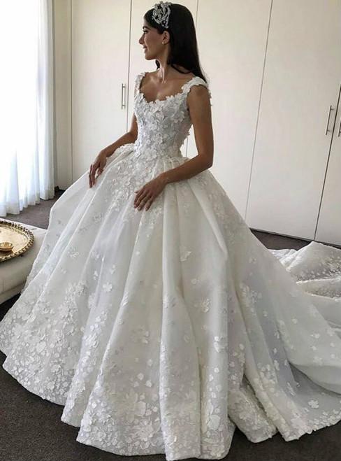 Scoop Neckline Wedding Dresses,Wedding Dresses 2017