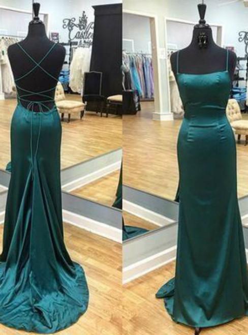 Spaghetti Straps Prom Dresses,Party Dresses 2017