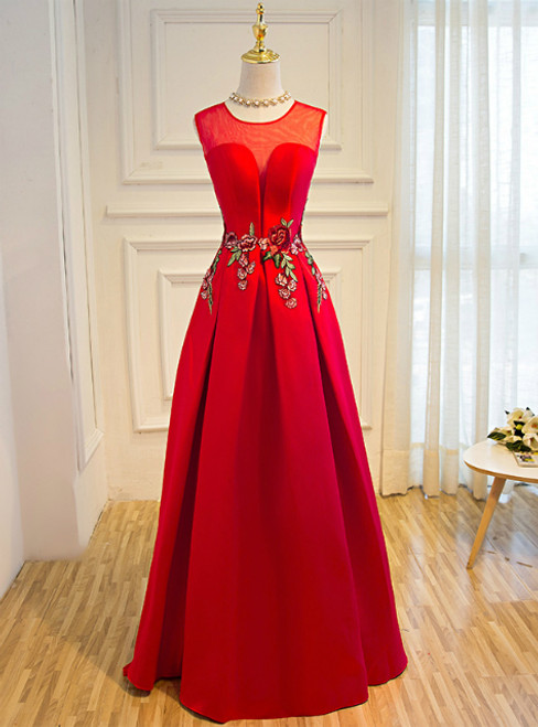 In Stock:Ship in 48 hours Satin Lace Up Floor-length Slim Party
