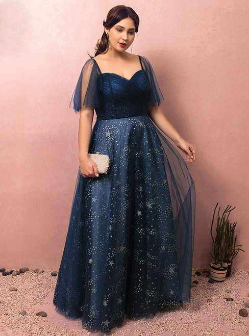Sweetheart Empire Waist Prom Dress Black