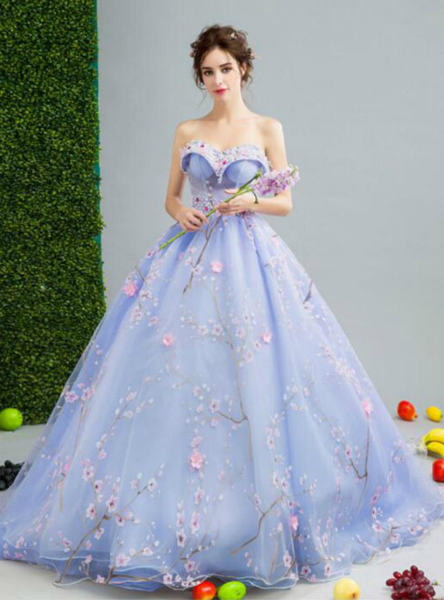 In Stock:Ship in 48 hours Ball Gown Sweetheart Tulle Wedding Dress