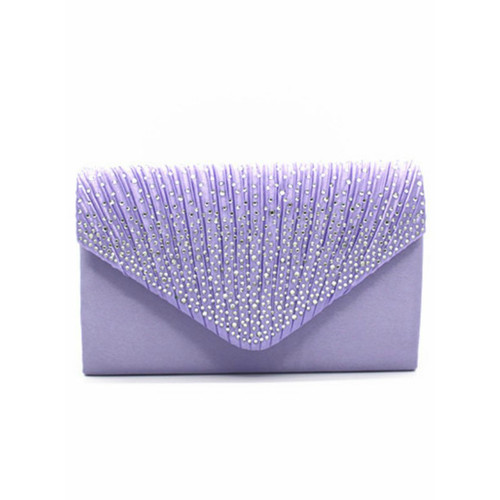 Woman Day Clutch Wallet Wedding Purse Party Banquet Multicolor