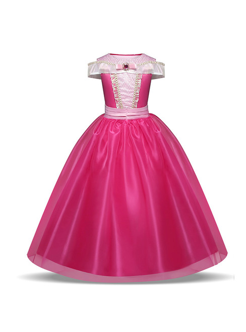 In Stock:Ship in 48 hours Fuchsia Tulle Halloween Sleeping Beauty Dress