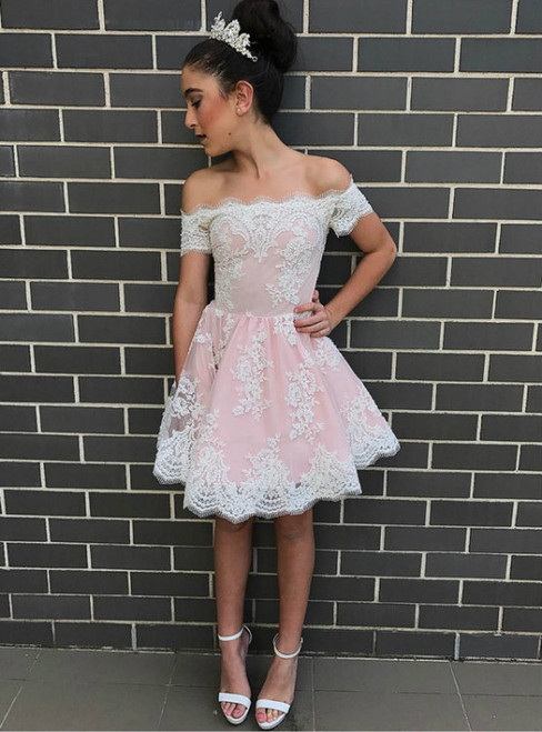 short prom dresses 2017,off shoulder prom gowns