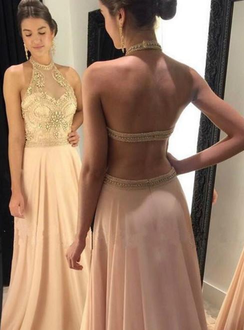 Chiffon Bridesmaid Dress,Long Evening Gowns