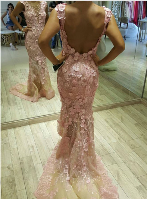 Mermaid Prom Dress,Mermaid Evening Gowns