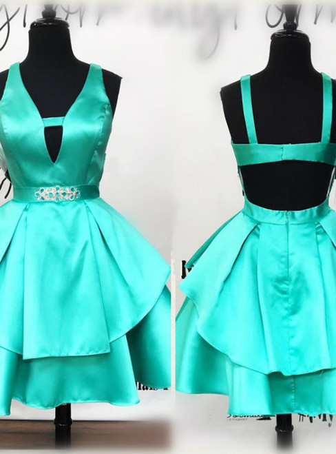 ruffles dress,short mini ball gowns