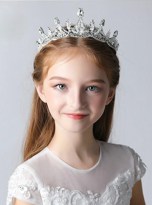 Crown Tiara Girl Crown Tiara Princess Crown Crystal Rhinestones
