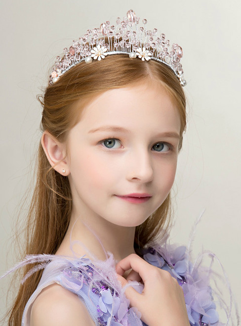 Children's Tiara Princess Tiara Garland Girl Crown Hairband