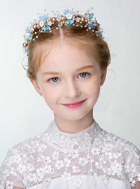 Flower Girl Hairband Children's Princess Hair Dress Accessories