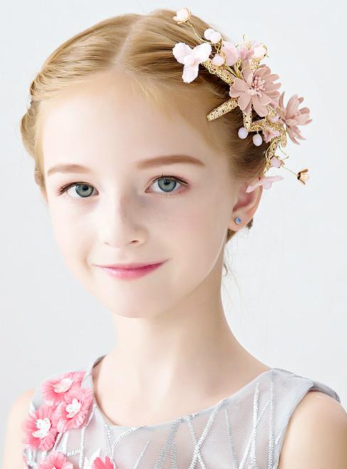 Children's Clip Flower Girl Accessories Princess Hair Accessories