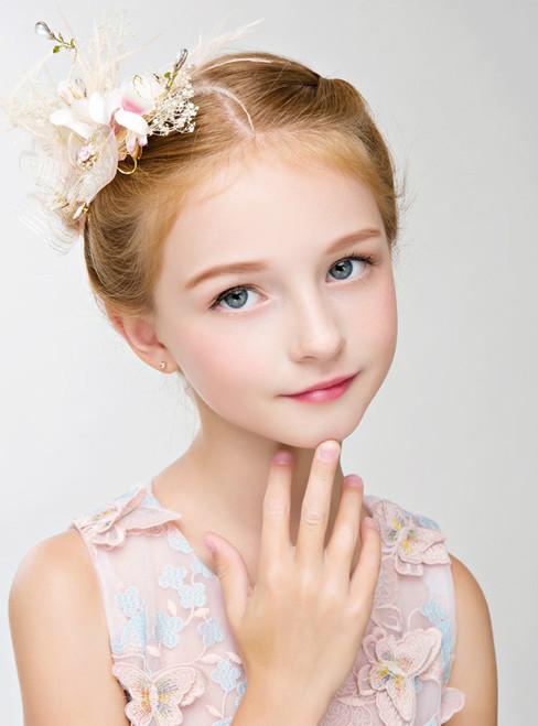 Crown Rhinestone Girl Hair Accessories Crown Flower Girl Headdress